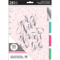 Happy Planner 6-Month Undated Medium Planner Extension Pack-Your Vibe