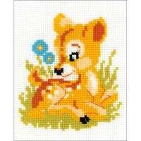 "RIOLIS Counted Cross Stitch Kit 6.25""x5""-Baby Deer (10 Count)"