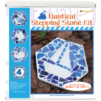 Mosaic Stepping Stone Kit-Nautical