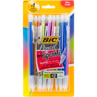 BIC Xtra Sparkle Mechanical Pencils 15/Pkg-Assorted Barrels