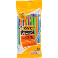 BIC Xtra Strong Mechanical Pencils 10/Pkg-Assorted Barrles