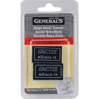 Magic Black Erasers 2/Pkg