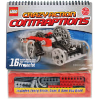 LEGO(R) Crazy Action Contraptions Book Kit