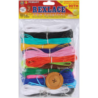 Rexlace Plastic Lacing Variety Pack-Primary