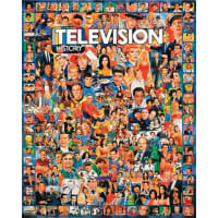 """Jigsaw Puzzle Ultimate Trivia 1000 Pieces 24""""X30""""-Television History"""