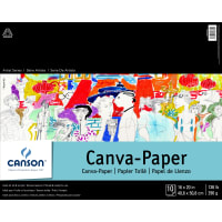 """Canson Artist Series Canva-Paper Pad 16""""X20""""-10 Sheets"""