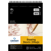 "Canson Artist Series Drawing Pad 9""X12""-Classic Cream 24 Sheets"