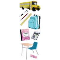 Touch Of Jolee's Dimensional Stickers-Back To School