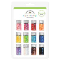 Sugar Coating Chunky Glitter Assortment 5g 12/Pkg-Assorted