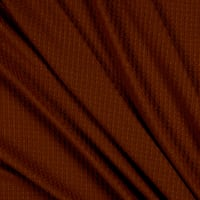Fabric Merchants Waffle Knit Solid Rust