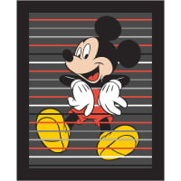 "Disney Mickey 36"" Panel Black"