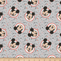 Disney Mickey Confetti Party Gray
