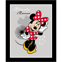 "Disney Minnie Mouse 36"" Panel Gray"