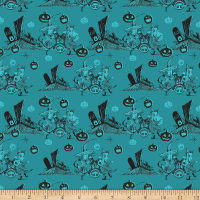 Disney Nightmare Before Christmas Graveyard Fun Teal