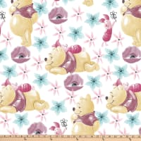 Disney Pooh Everyday Pooh and Piglet Friend Forever Flannel Multi