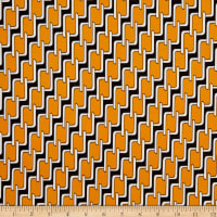 Telio Brazil Stretch ITY Jersey Knit Retro Mustard Fabric