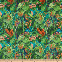 Ottertex Canvas Printed Waterproof Jungle Multi