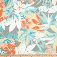 Tommy Bahama Home Hibiscus Glow Duck Nectar