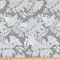 Telio Montgomery Stretch Bengaline Foliage White/Black
