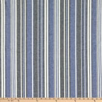 Telio Marina Linen Blend Stripe Royal