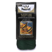 Phentex Slipper & Craft Yarn, Deep Green