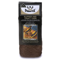 Phentex Slipper & Craft Yarn, Brown