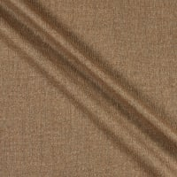 100% Wool Twill Taupe/Brown