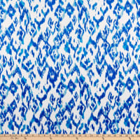E.Z. Fabric Minky Ikat White