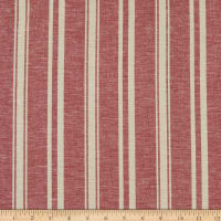 Fabtrends Boardwalk Rayon Linen Stripe Amaretto