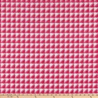 Hilary Farr Try Angles Chenille Jacquard Fuchsia