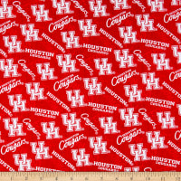 NCAA Houston Cougars Tone on Tone Cotton Multi