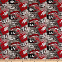 NCAA Alabama Crimson Tide Graffiti Cotton