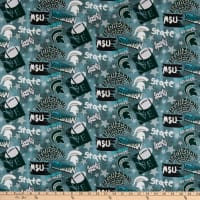 NCAA Michigan State Spartans Graffiti Cotton