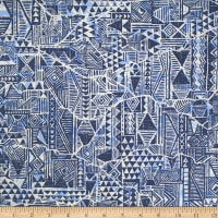 Trans-Pacific Textiles Crack in Tapa Blue