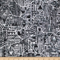 Trans-Pacific Textiles Crack in Tapa Black