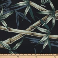 Trans-Pacific Textiles Lost in Bamboo Black
