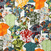 Trans-Pacific Textiles Spread the Aloha Shirts Beige