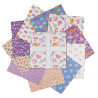 "Camelot Looking Pawsome 10"" Squares 42 pcs"