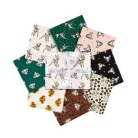 Disney Cute & Wild Fat Quarter Bundle 8 pcs