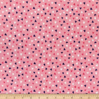 Laura Ashley Summer Days Hearts Pink