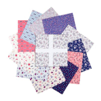 "Laura Ashley Summer Days 10"" Squares 42 pcs Multi"