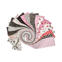 "Camelot XOXO 2 1/2"" Strips 40 pcs"