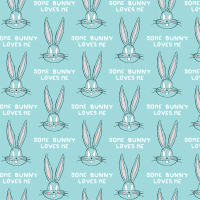 Looney Tunes Little Dreamer Bugs Bunny Editorial Light Blue