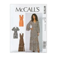 McCall's M7970 Misses' Dresses Pattern Size A5