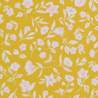 Cloud9 Organic Wildflower Cotton Blossom Mustard Multi