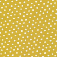 Cloud9 Organic Interlock Stretch Knit Dots Gold