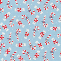 Cloud9 Organic Jingle Mingle Sweet Christmas Red/White