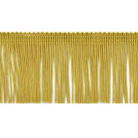 "20 Yards 2"" Chainette Fringe Trim Gold"