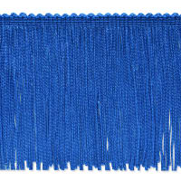 "20 Yards 4"" Stretch Chainette Fringe Trim Royal Blue"