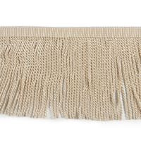"Zico 9"" Bullion Fringe Trim (Precut, 10 Yards) Ivory"